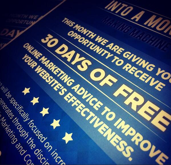 30 Days of Free Advice Extended into July!