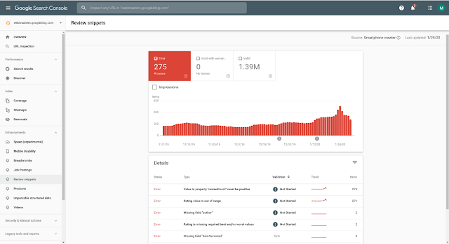 Google-Search-Console-to-show-new-reports-for-review-snippets-console