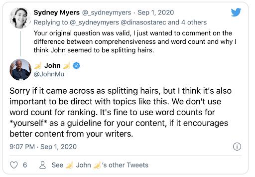 google-john-mueller-on-word-count